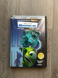 Monsters Inc Collector's Edition DVD Markham, L3R