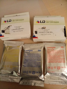 LD and Lexmark Ink Cartridges