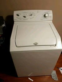 white top-load clothes washer Mississauga, L5R 2W1