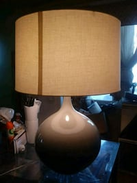 brown and white table lamp Capitol Heights, 20743