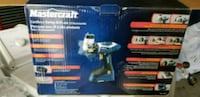 BNIB Cordless swing drill with 23 pieces Bowmanville, L1C 5M1