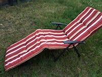 Outdoor chaise chairs with cushion (2) Port Coquitlam