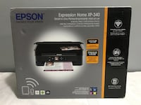 EPSON EXPRESSION HOME XP-340 WIRELESS ALL-IN-ONE PRINTER - BRAND NEW - FJN Cambridge, N1P 1E3