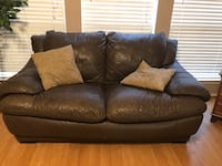 Leather couch and love seat Sachse, 75048