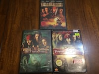 First 3 Pirates of the Caribbean movies ($5 for all 3 movies) North Vancouver, V7P 1S3