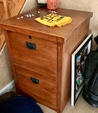 Spacious Wooden Filing cabinet Gainesville, 20155