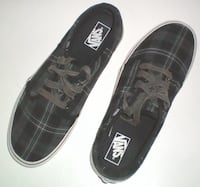 Plaid Vans Off The Wall Skateboard Shoes Size 11 Mens London