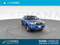 2009 Toyota Tacoma Double Cab pickup PreRunner Pickup 4D 5 ft Blue