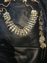 Excellent condition set with earrings long which can hang on side of hair  Brampton, L7A
