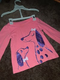 2t childrens place long sleeve