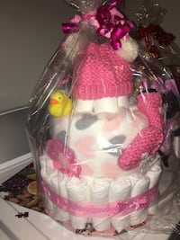 baby minnie mouse diaper cake
