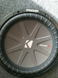 "Two 12"" kicker comp R's less than two months old e"