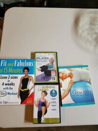 Fitness Books & DVDs all for $2 - Moving Sale Kitchener, N2E 4C7