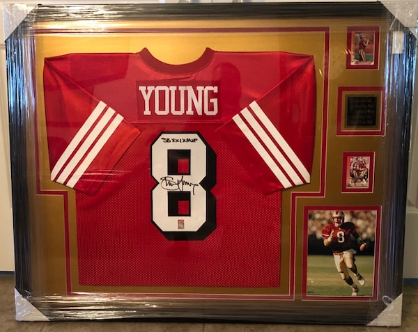 low priced b8634 5a1d6 Steve Young Autographed Jersey