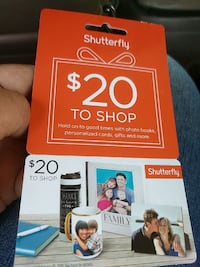 Gift card (several in stock)