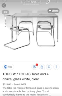 Table with chairs . Miami, 33132