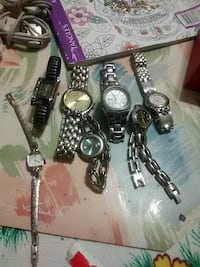 silver wristwatches collection