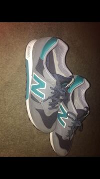 pair of gray-and-green New Balance sneakers Waldorf, 20602
