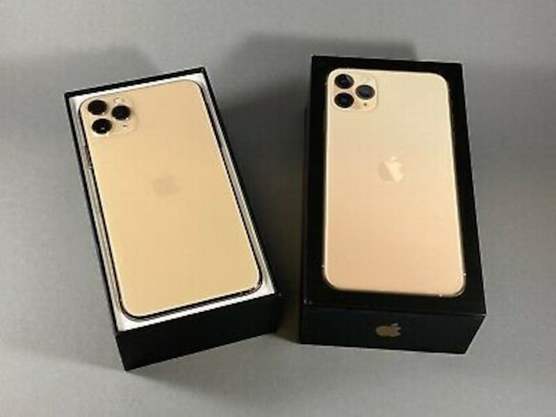 NEW Apple iPhone 11 Pro Max 64GB Gold GSM Unlocked A2161 AT&T T-Mobile 10b34330-28c1-464e-923e-6799b360b988