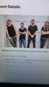 Rebelution tickets