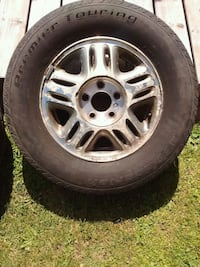 215/70/R15 tires with rims - used Montreal, H4R 1A2