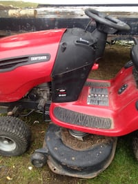 red and black ride on lawn mower St Albert, T8N 7C8