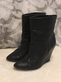 Iro leather ankle boots - size 37/7