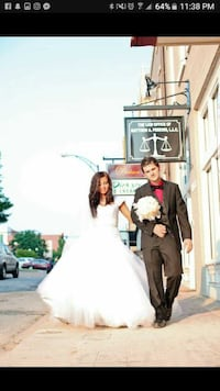 Used wedding dress in anderson for Wedding dresses anderson sc