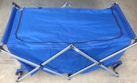 blue and gray folding bed Orillia