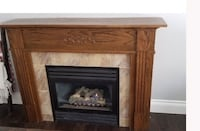 Solid wood fireplace surround Ancaster, L9G