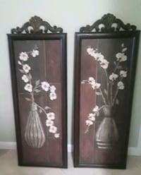 two brown metal framed paintings Port St. Lucie, 34952