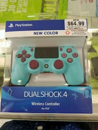 white and blue Sony PS4 controller Silver Spring, 20902