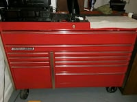 red Snap-on tool chest Baytown, 77520