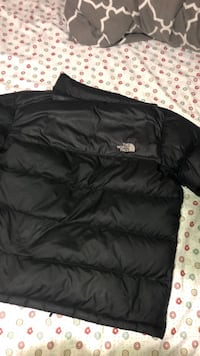 North face bubble jacket small men's
