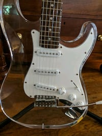 Awesomely goofy clear electric guitar Grasonville, 21638