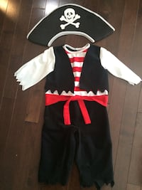 Pirate Costume Child - age 1-4 years Edmonton, T6X 1C5