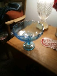 Beautiful white blue candy dish Laconia, 03246