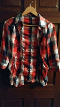 red, white, and black plaid sport shirt Vaughan, L4L 8T8