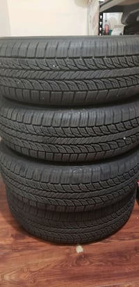 4 like new tires size is p175/65/14 M+S Surrey, V3R 5X9