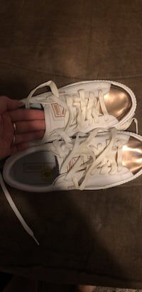 Gold and white pumas Deland, 32720