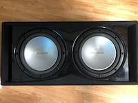 "Dual Brand New 12"" Subs With New 1200 Watt AMP ANCHORAGE"