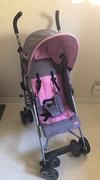 Pink and gray umbrella stroller Arcadia, 91006