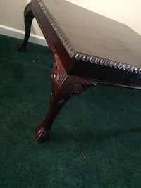 Solid wood very large coffee table 448 mi