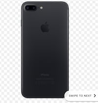 iPhone 7 Plus matte black  Kitchener, N2E 4B4