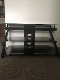 3 Shelf glass/metal TV Stand Abbotsford