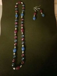 beaded purple/blue/silver set North Andover, 01845