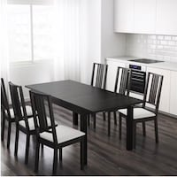IKEA BJURSTA Dining Table & Chairs Upper Marlboro, 20772