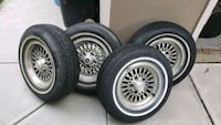 Wheels and tires set 205/70/14 Parma