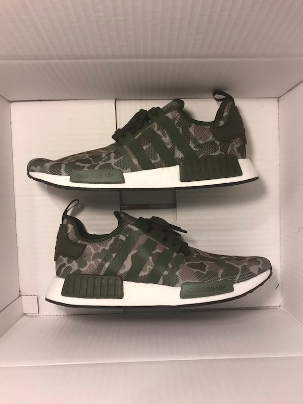 low priced 601d0 78a0b Adidas NMD R1 Duck Camo Sesame