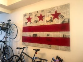 cool DC flag collage